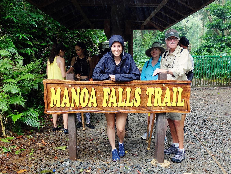 Hawai Oahu Manoa Falls