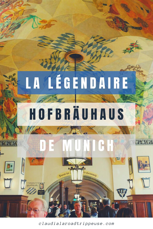 Hofbräuhaus canva pour Pinterest