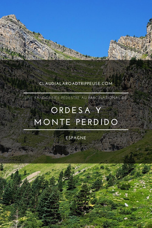 Ordesa y Monte Perdido canva pour Pinterest