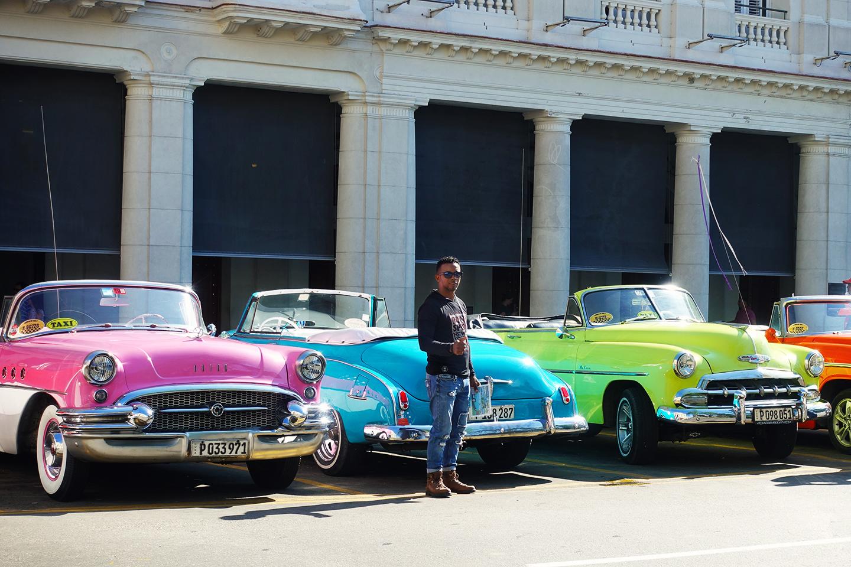 Parque Central à La Havane, Cuba