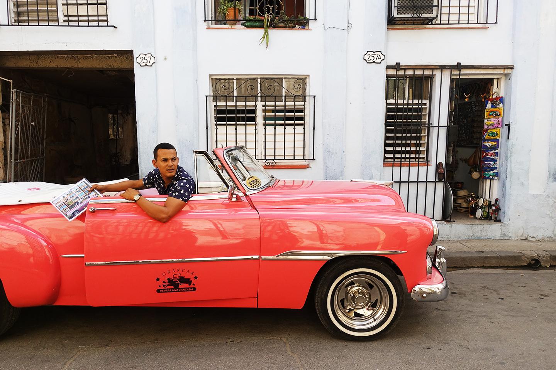 Voiture ancienne à La Havane