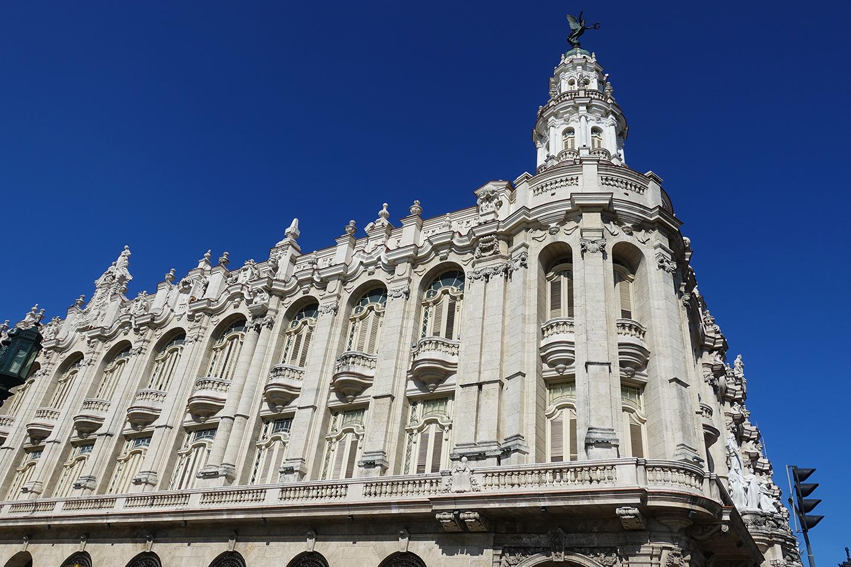 Le théâtre de La Havane à Cuba