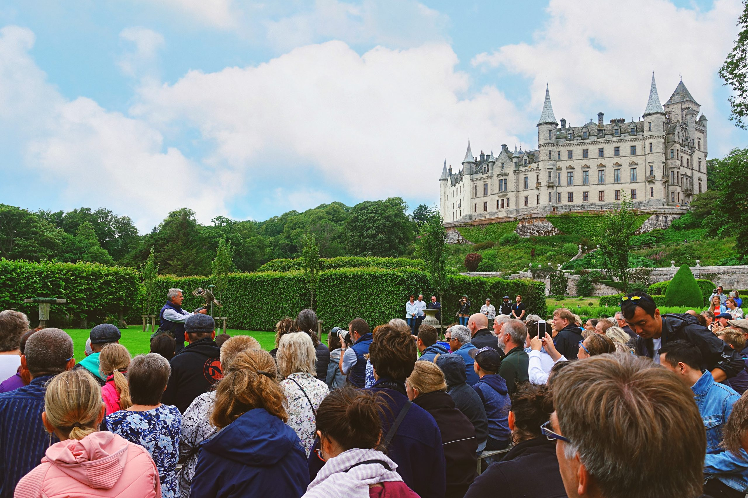 Spectacle au Dunrobin Castle