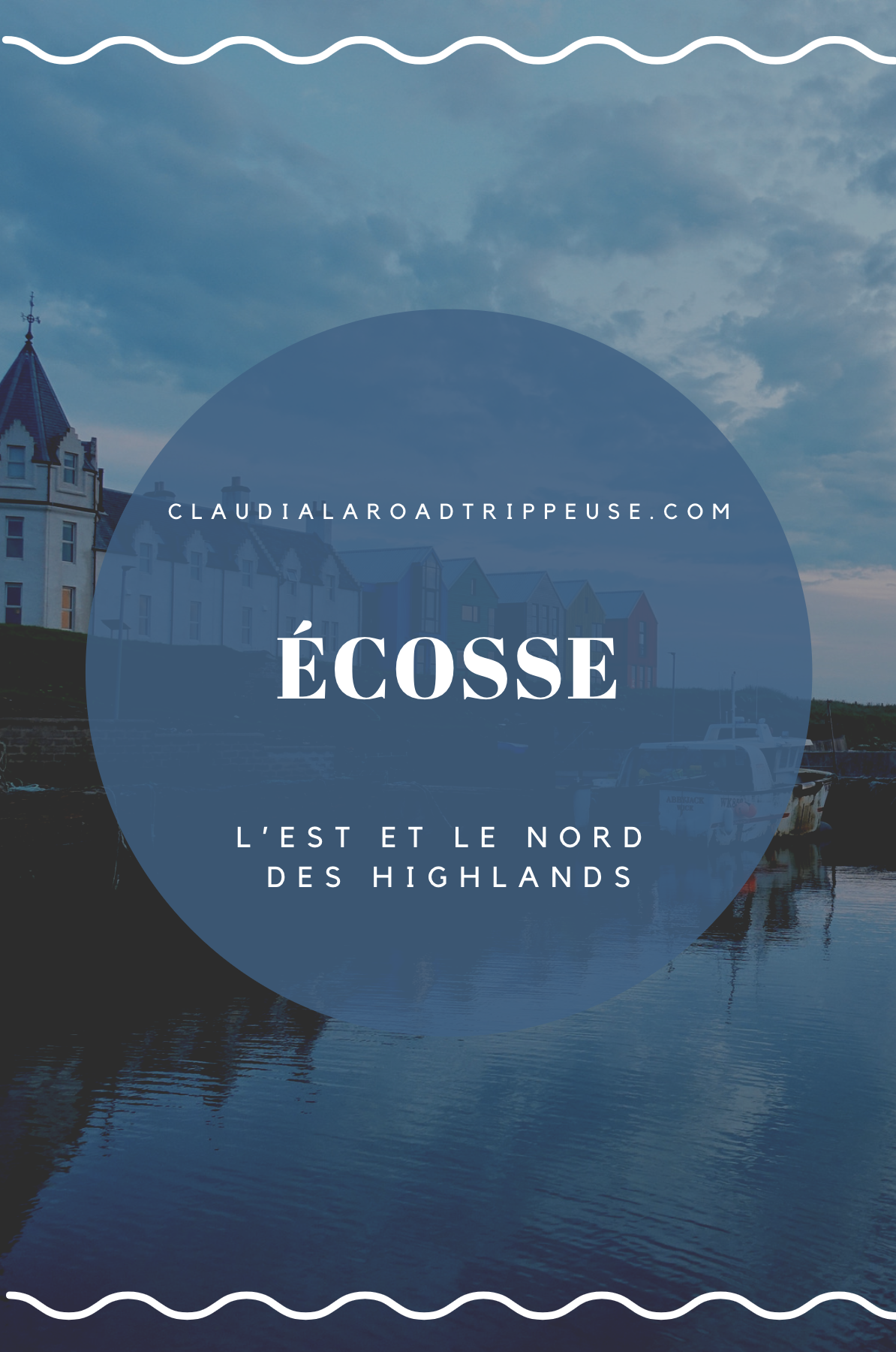 Écosse Highlands partie 2 canva pour Pinterest