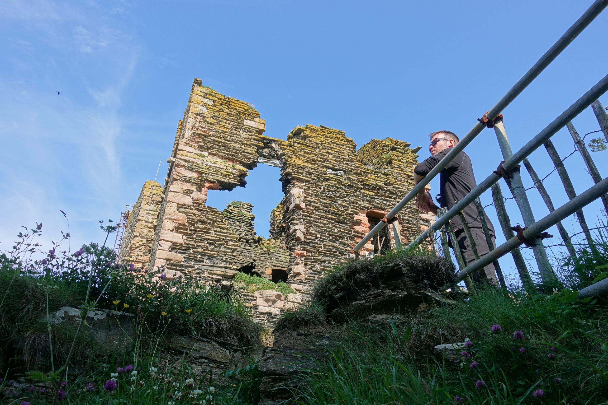 Les ruines du château de Sinclair et Girnigoe