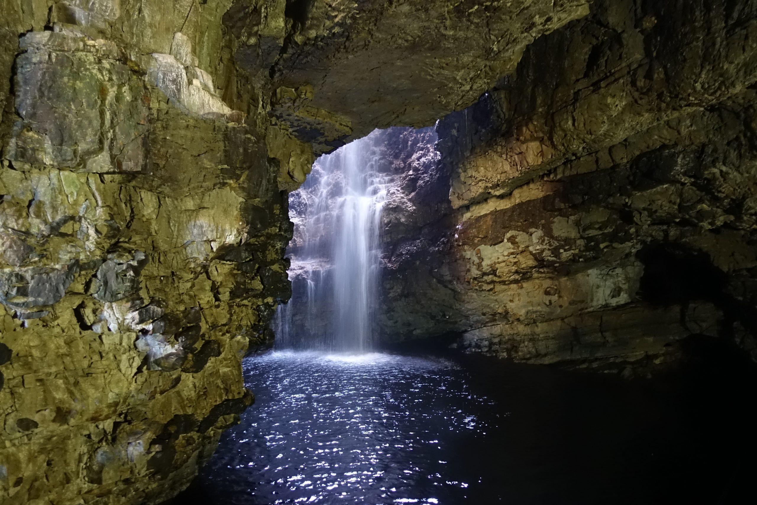 Smoo Cave en Écosse