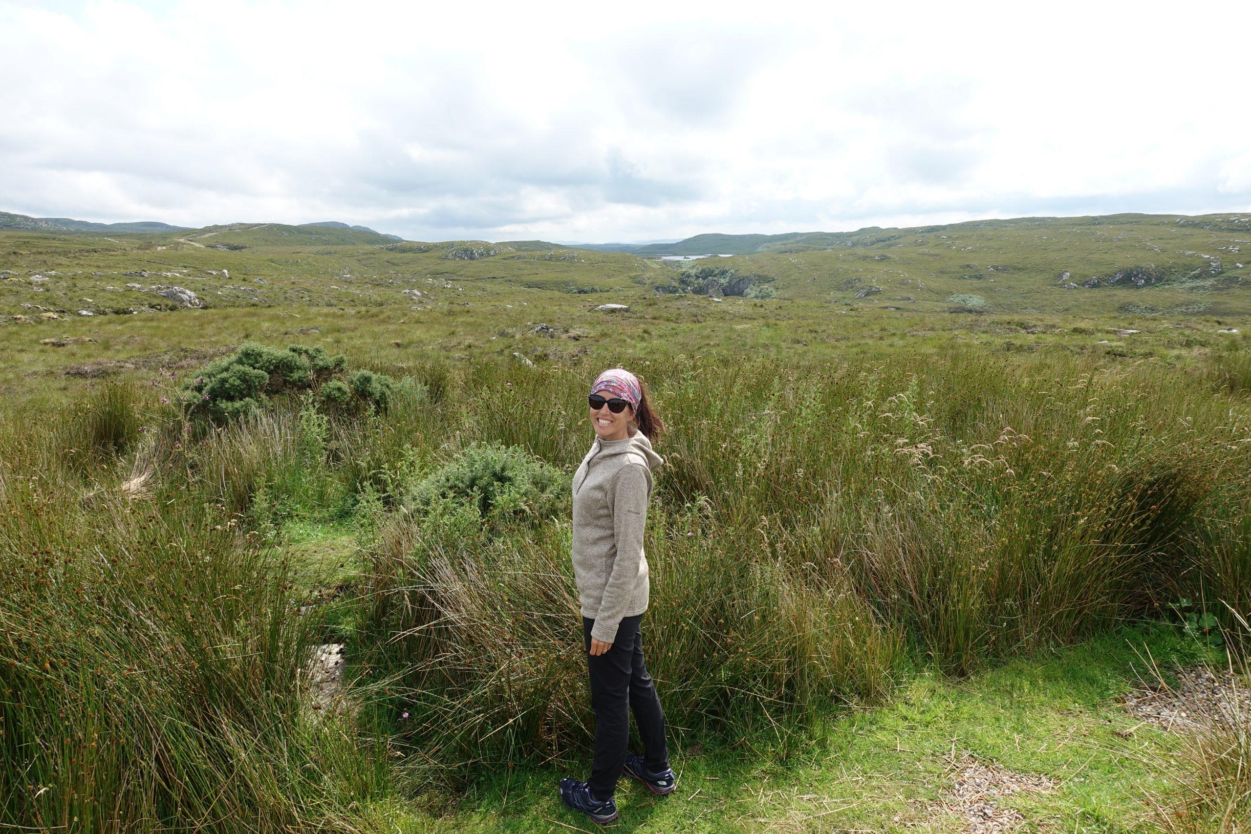 Sur la route des Highlands