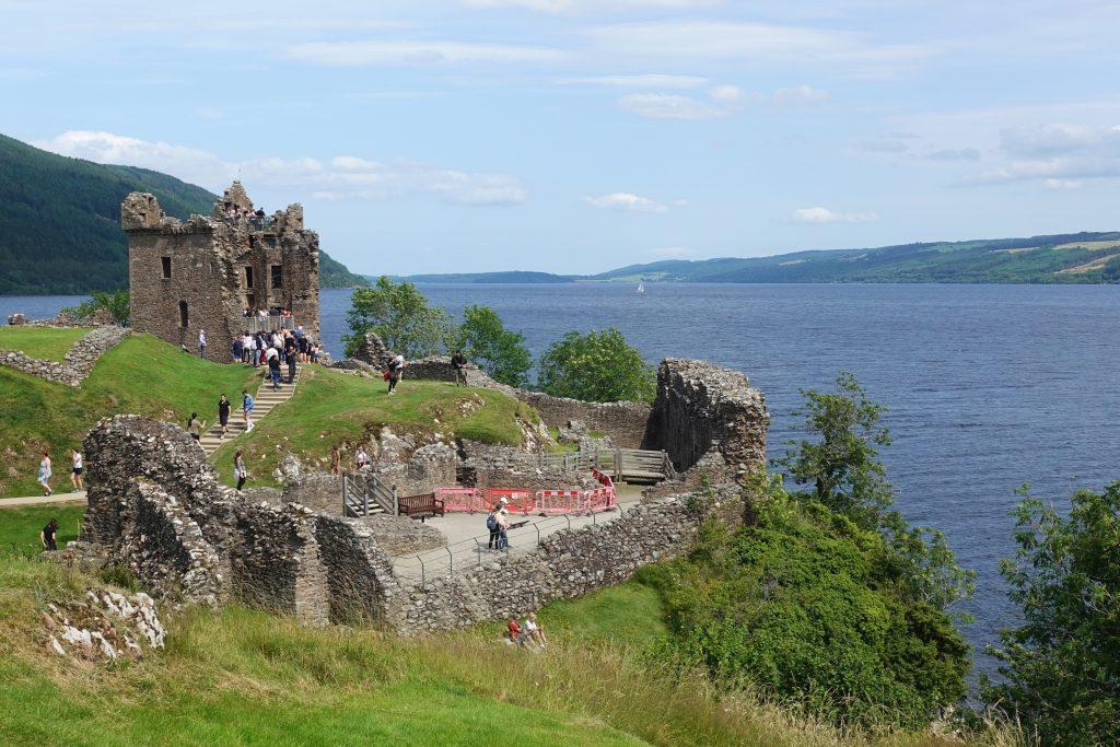 Urquhart Castle, une incursion dans l'histoire des guerres de l'Écosse