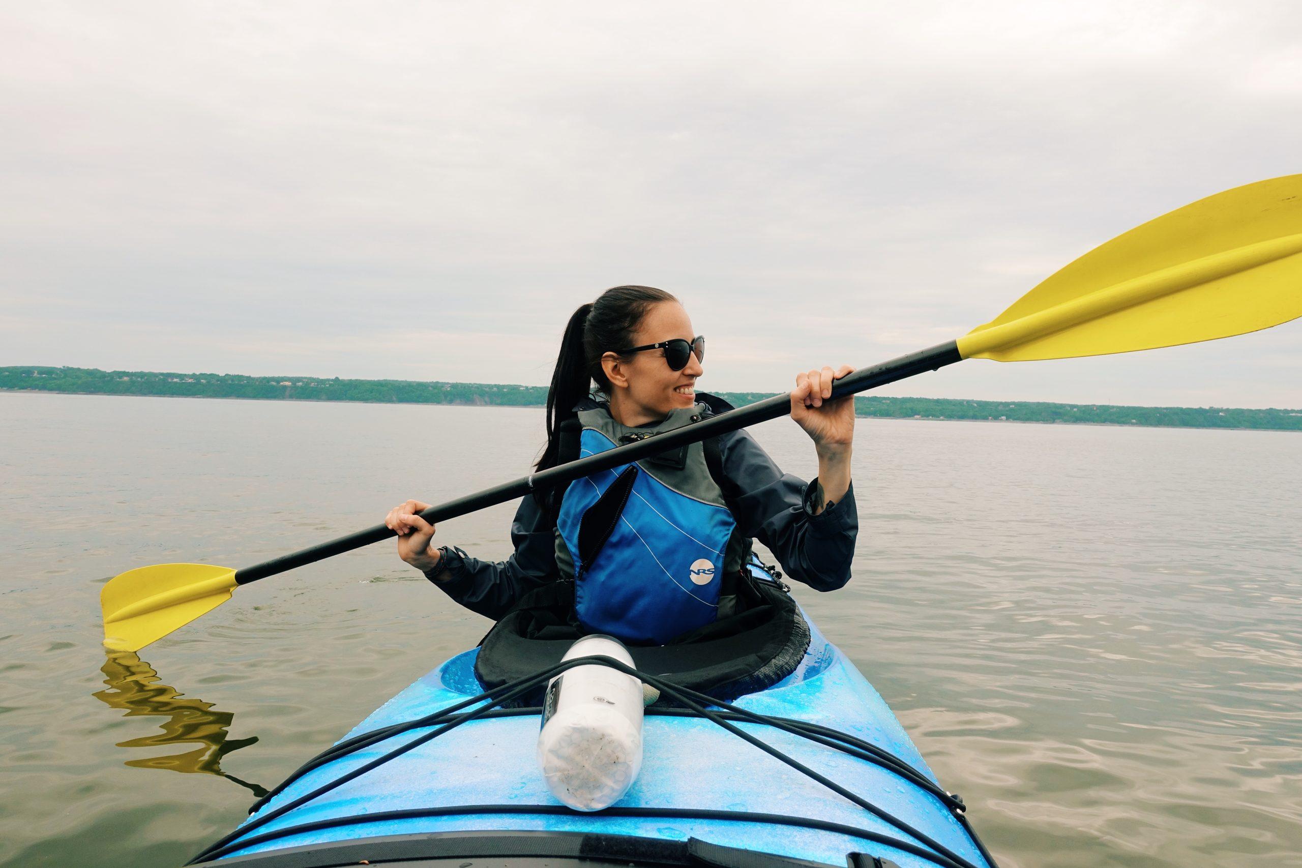 Trip de Kayak sur le fleuve avec Quatre Natures