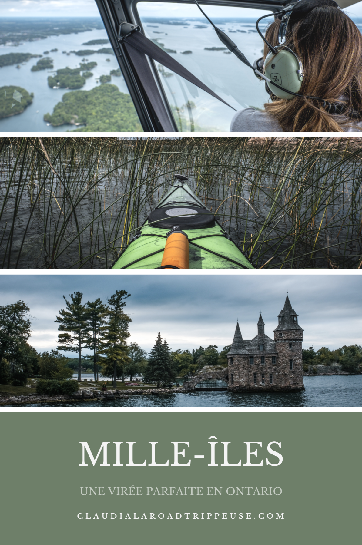 Virée aux Mille-Îles, Ontario, Canada