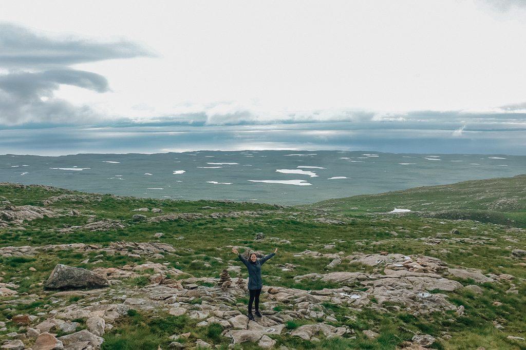 Observatoire au sommet de Bealach Na Ba